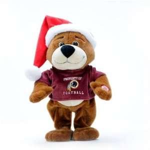Washington Redskins Dancing Santa Bear