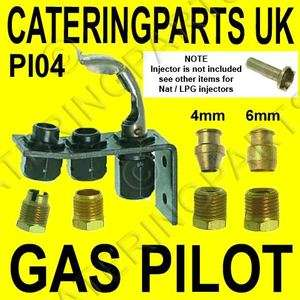 PI04 SIT GAS PILOT ASSEMBLY 1 FLAME NAT / LP / PROPANE