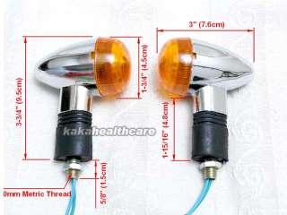 Yamaha Virago XV 125 250 Chrome Turn Signal Light 88 10