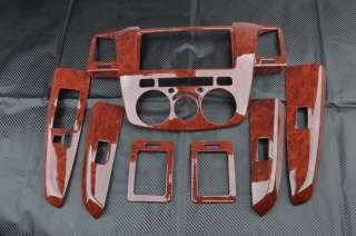 Wood Grain Dash Trim Kit For TOYOTA HILUX VIGO SR5 Pickup 4DR LH