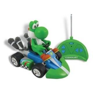 Nintendo Super Mario Yoshi Mini Radio Control Kart Remote Control Car