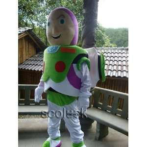 character of buzz lightyear mascot costume toy story 3 Toys & Games