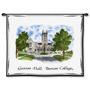 Boston College, Gasson Hall , 34x26