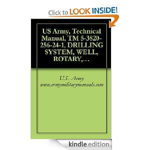 US Army, Technical Manual, TM 5 3820 256 24 1, DRILLING SYSTEM, WELL