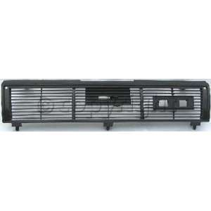 Nissan Sentra Front Custom Black Grille   1 PC Grille Grill 1987 1988