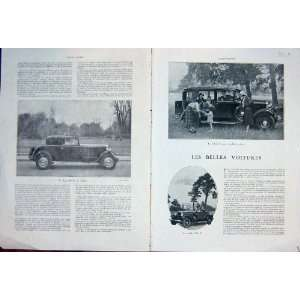 Automobile Citroen Renault Car Roadster French 1931 Home