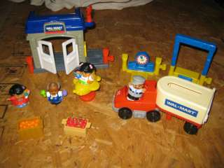 Fisher Price Little People  Big Rig Store Set