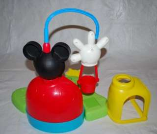 Surprise Clubhouse Playset Mickey Minnie Mouse Pluto Car Stage Balloon