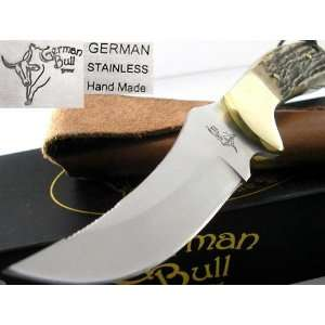GB109DS Bowie Hunter Genuine Deer Stag Handle Knife