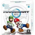 BRAND NEW Mario Kart with Wheel (Wii, 2008) in Original Manufacturer