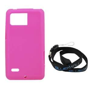 GTMax Hot Pink Soft Rubber Silicone Skin Cover Case