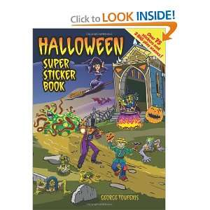 Halloween Super Sticker Book (Dover Sticker Books