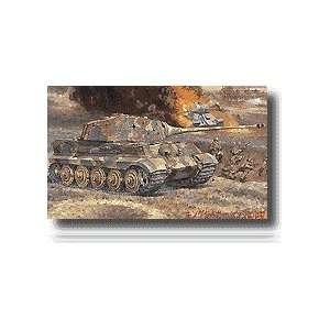 FUJIMI MODELS   1/76 King Tiger Henshel Tank (Plastic Models