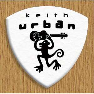 Keith Urban 5 X Bass Guitar Picks Both Sides Printed