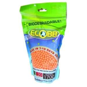 Biodegradable Eco BB 1700ct   .20g   Orange Sports