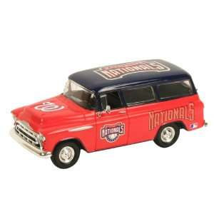 Washington Nationals Diecast 1957 Chevy Suburban (1:25
