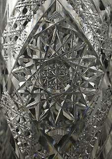 American Brilliant Period ABP Cut Glass/Crystal Pitcher
