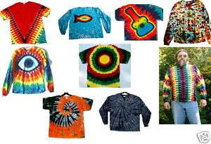 NEW Size 4X At a Glance Hand dyed TIE DYE T Shirt XXXXL U Choose