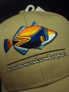 NEW ~ STATE FISH OF HAWAII ~ GOLF HAT BASEBALL CAP ★