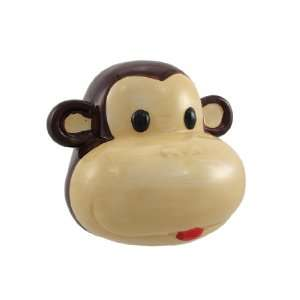 Ceramic Monkey Face Money Bank: Toys & Games