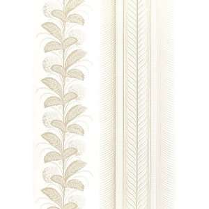 Hydrangea Drape White by F Schumacher Wallpaper