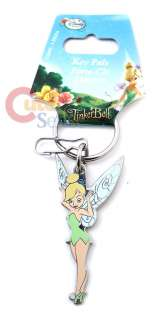 Disney TinkerBell Key Chain  Metal Full Color Enamel