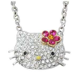 Hello Kitty Crystal Swarovski necklace by Jersey Bling ships with FREE