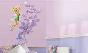 wall stickers MURAL Disney fairy room decor decal Pixie dust