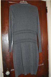 NWOT H&M Mama Maternity Long Charcoal Gray Cardigan Sweater Jacket