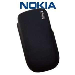 Genuine Nokia C7 Black Leather Slip Case Pouch (Not Retail