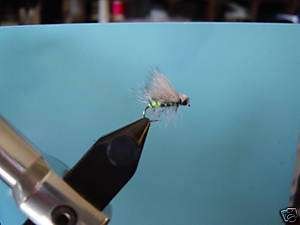 EGG LAYING ELK HAIR CADDIS Guide Dry Fly Trout Sz 14