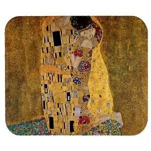 The Kiss by Gustav Klimt Art Mousepad