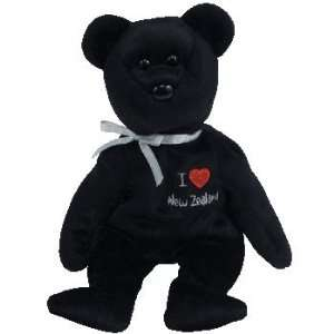 TY Beanie Baby   NEW ZEALAND the Bear (I Love New Zealand