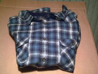 MENS ST. JOHNS BAY FLANNEL SHIRT NWT 3XL & 4XL