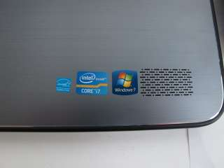 Dell XPS L702X Laptop PC   8 GB RAM, 2x 500 GB HDs, Core i7, Very Good