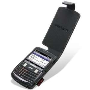 Leather case cover for (Samsung Intrepid)   Black Electronics