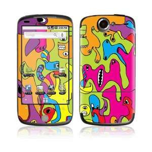 com Color Monsters Decorative Skin Cover Decal Sticker for HTC Google