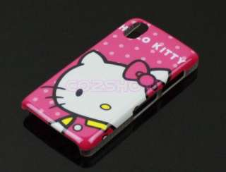 Hot Pink Hello Kitty Hard Case for LG Cookie KP500 KP501