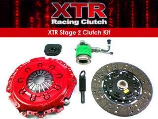 XTR STAGE 2 CLUTCH KIT 1995 00 FORD CONTOUR MERCURY MYSTIQUE 2.5L V6