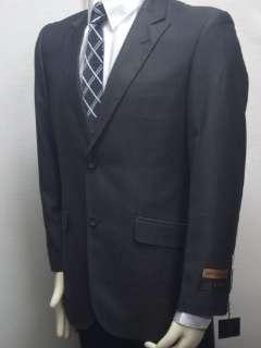 MENS NEW SLIM FIT BLACK DRESS SUIT SIZE 42L NEW SUIT