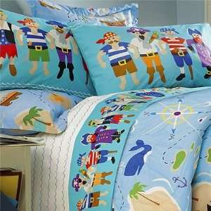 Pirates Full / Queen Size Bed Comforter by Olive Kids