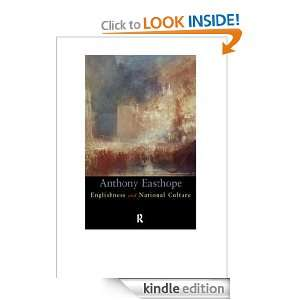 Englishness and National Culture Antony Easthope  Kindle