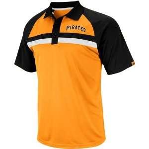 Pittsburgh Pirates Golf Shirt  Majestic Pittsburgh Pirates Absolute