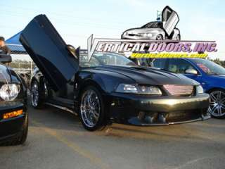 FORD MUSTANG 99 04 LAMBO DOOR KIT VERTICAL DOORS INC