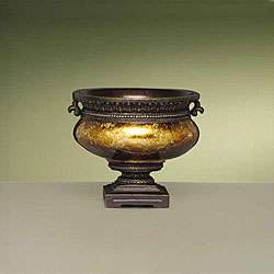 Antique Gold Leaf Decorative Bowl