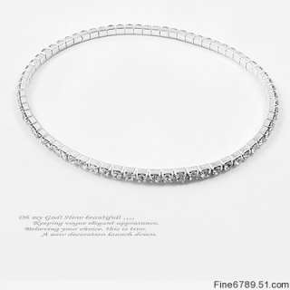 Wholesale 10Pcs Mixed Clear Crystal Rhinestone Anklets