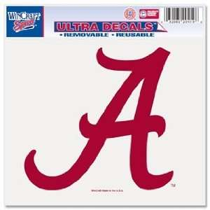of Alabama Crimson Tide Script A 5x6 Ultra Decal Automotive