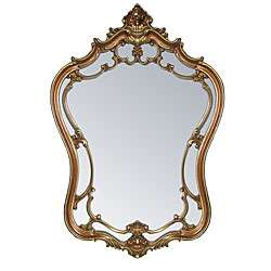 Angelina Antique Gold Mirror