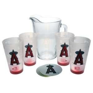 Anaheim Angels   Logo Pitcher Set