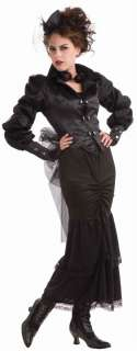 Steampunk Victorian Lady Womens Adult Costume NEW